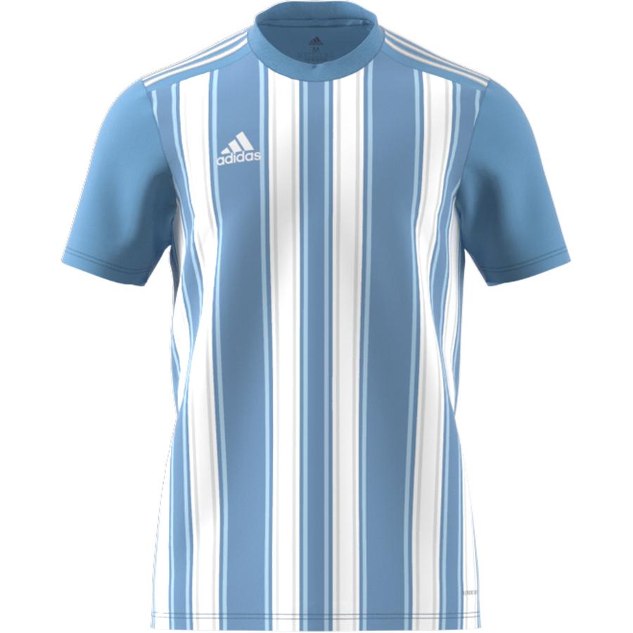 Adidas Striped 21 Jersey - Team Light Blue / White