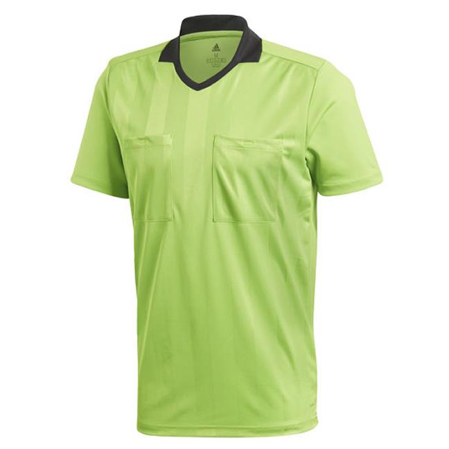 Velas Archivo Casarse  Adidas Referee 18 Short Sleeve Jersey - Semi Solar Green