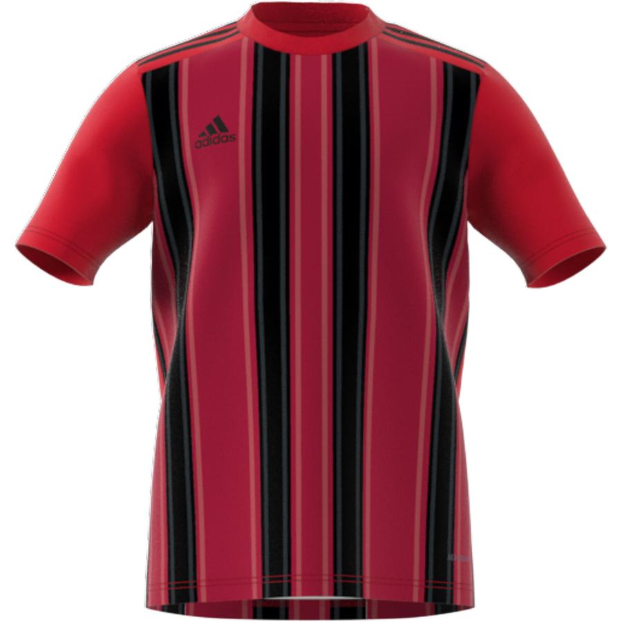 Adidas Striped 21 Jersey - Team Power Red / Black